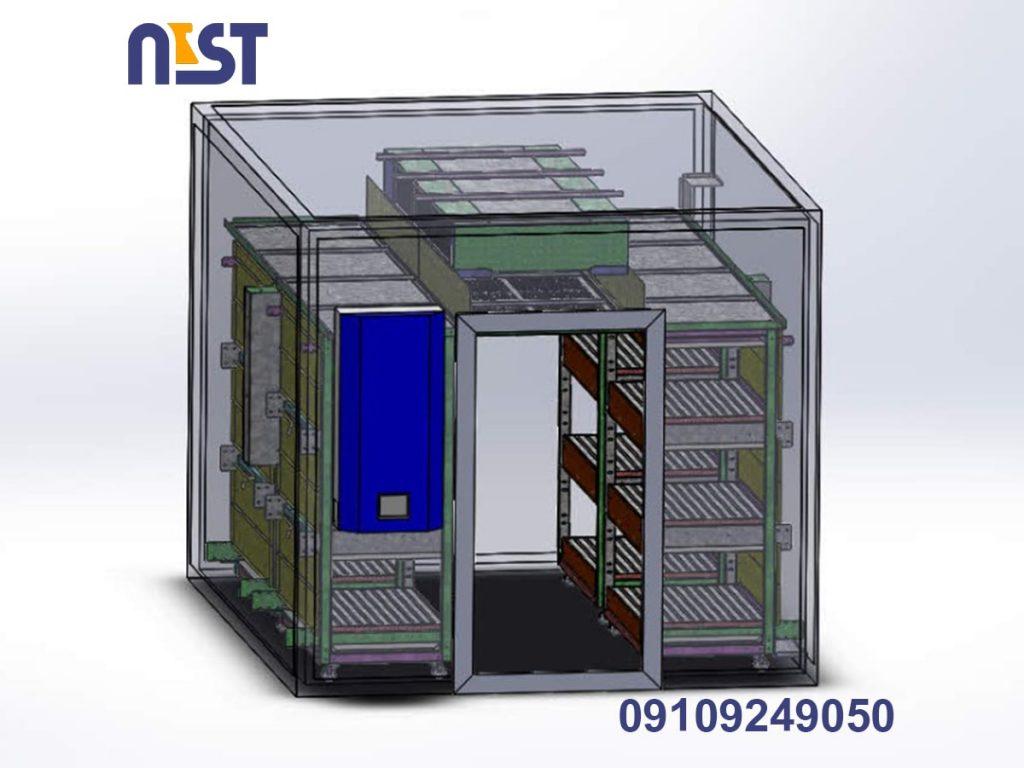 طراحی و ساختار اتاق رشد گیاه