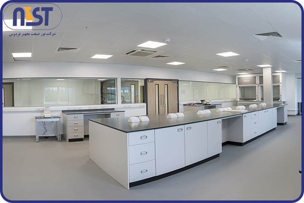 سکوبندی دو طرفه در تجهیزات آزمایشگاهی