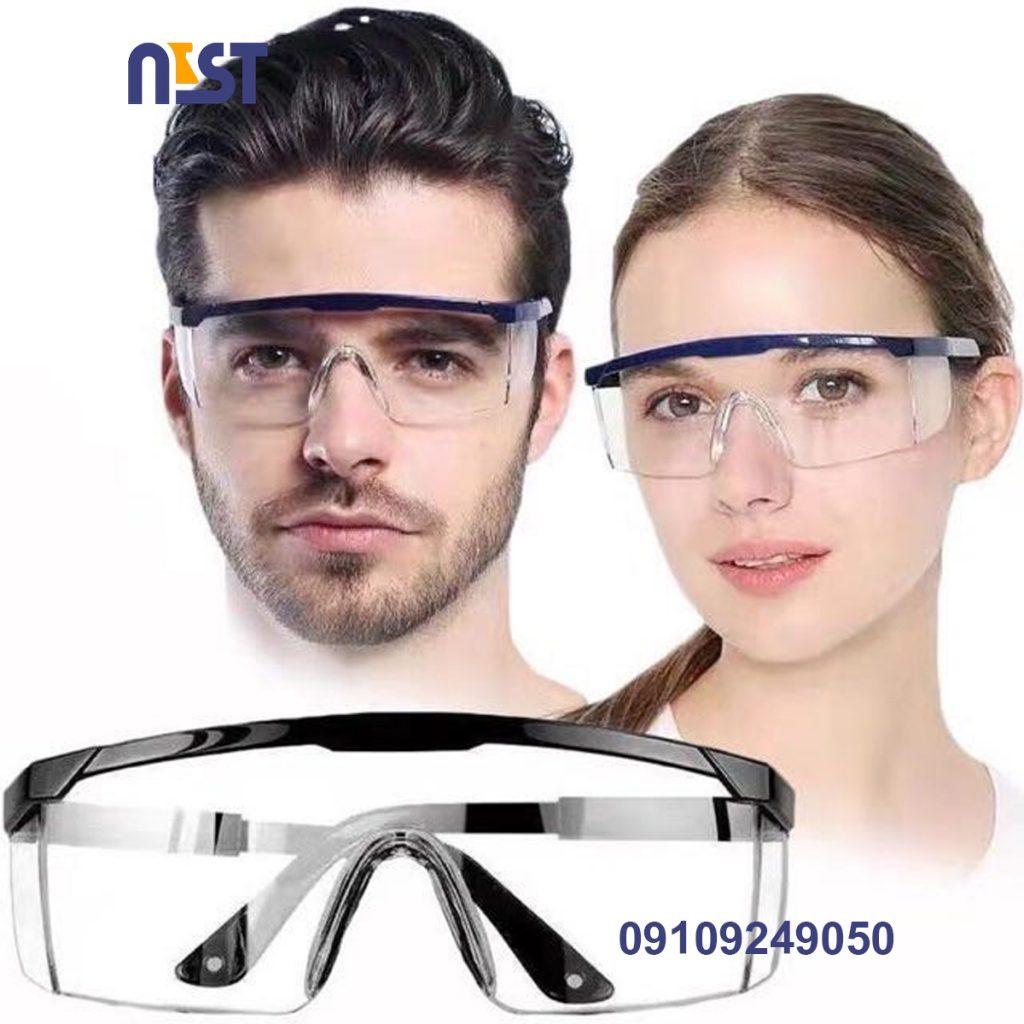 عینک محافظ چشم آزمایشگاهی